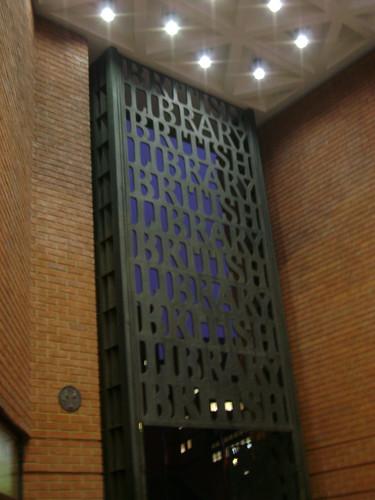 British Library passageway