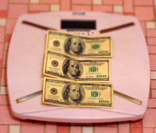 Lose weight or lose debt:  which would you choose?