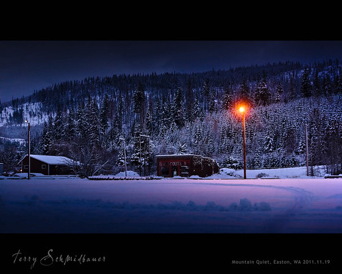 Winter's Night by Terry Schmidbauer