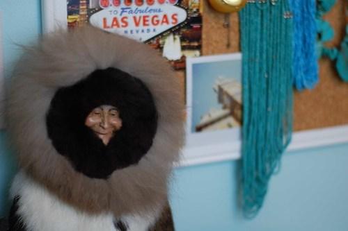 Furry Eskimo Doll