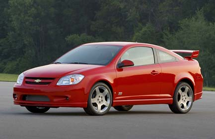 Chevrolet Cobalt: Auto Americano Compacto Disponible en Sedan y Coupe