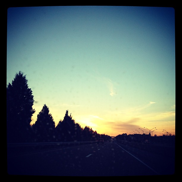 Driving off into the Sunset (Sunday)