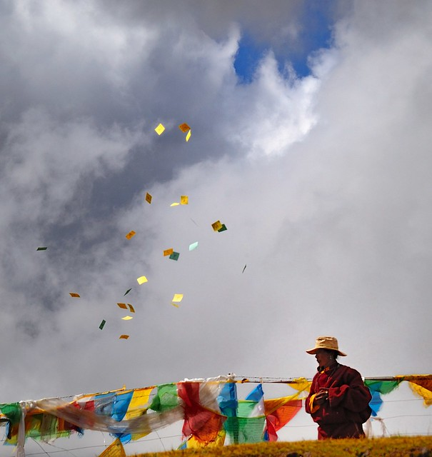 Paper Wind Horse called Lungta in Tibetan. | Flickr - Photo Sharing!