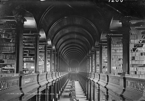 The Long Room by National Library of Ireland on The Commons