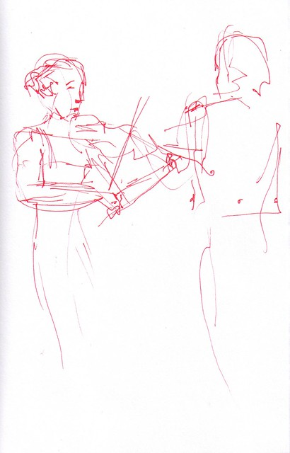 violin soloist and conductor