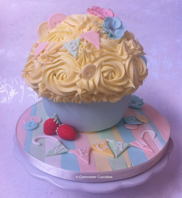 Cirencester Cupcakes - Cath Kidston Inspired Giant Cupcake
