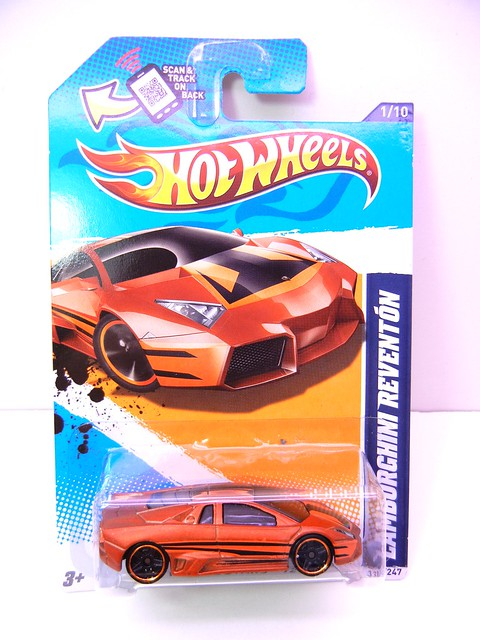 hot wheels lamborghini reventon bronze (1)