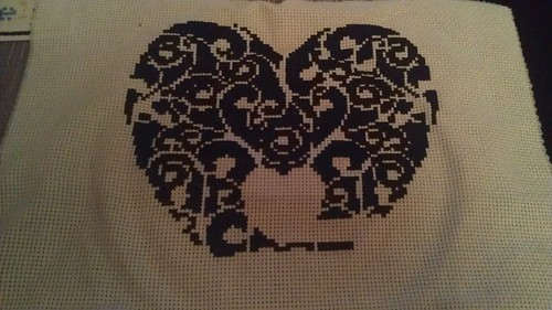 Valentine heart pattern by Pin-Cushion-Queen