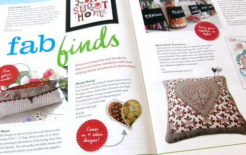 ...with my pincushion on page 10!