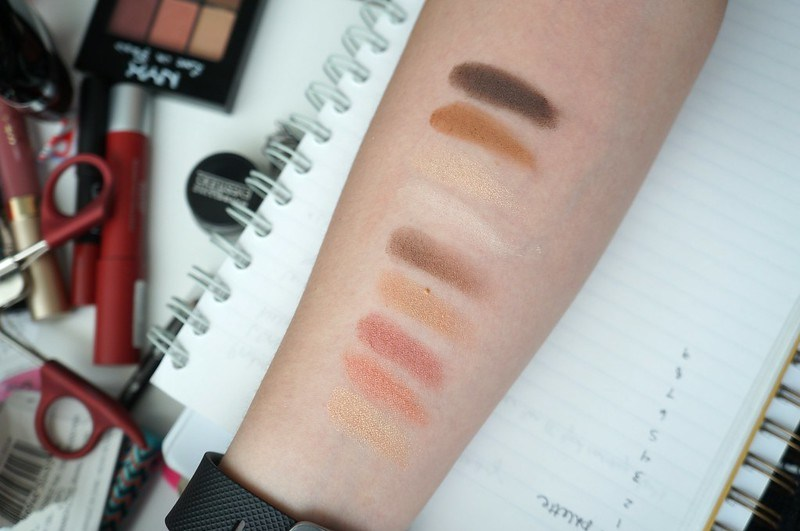Swatches - built up