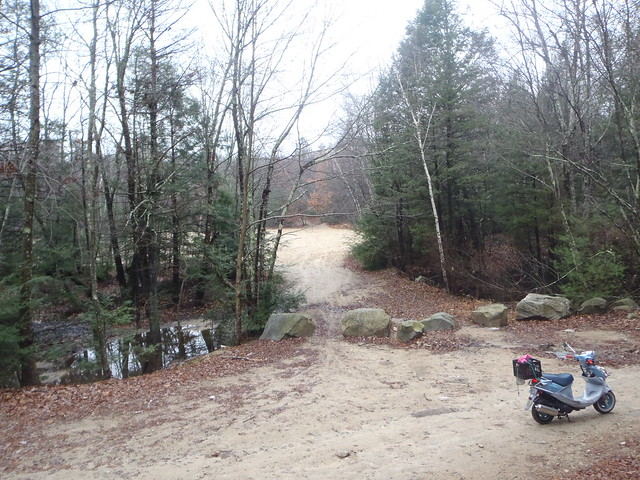Sand pit or a bit of south Jersey in the Rhody woods! I cannot wait to go back on the DRZ with knobbies