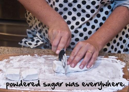 lots of sugar