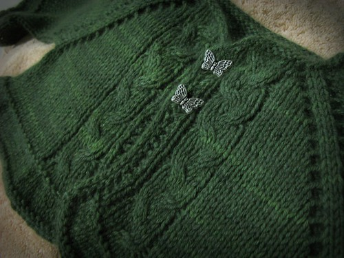 Sophia's cashmere sweater