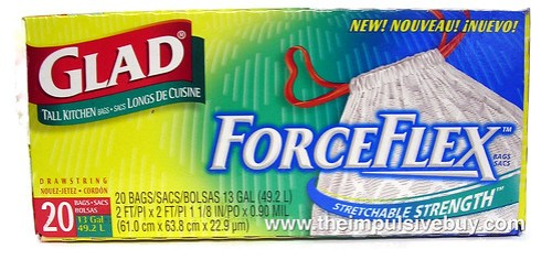 Glad ForceFlex Kitchen Trash Bags