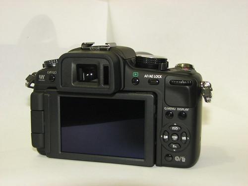 my new camera - lumix dmc g2 (back view)