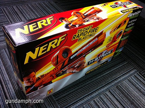 NERF Sale 50% Off Stampede Raider Recon Unboxing Review (49)
