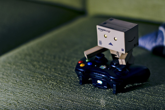 Danbo loves his videogames (5/365)