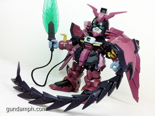 SD Gundam Online Capsule Fighter EPYON Toy Figure Unboxing Review (35)