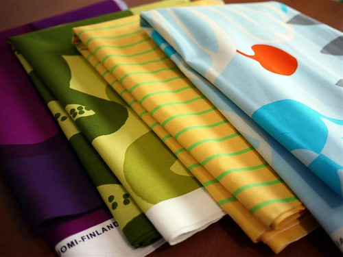 Marimekko Fabrics from the Crate and Barrel Outlet