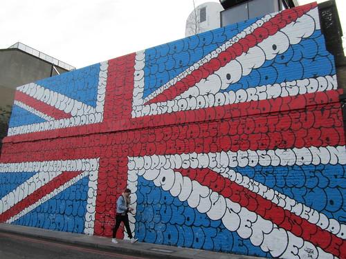 Street Art & Graffiti in Shoreditch - Tilt