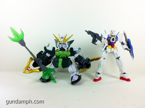 SD Gundam Online Capsule Fighter ALTRON Toy Figure Unboxing Review (38)