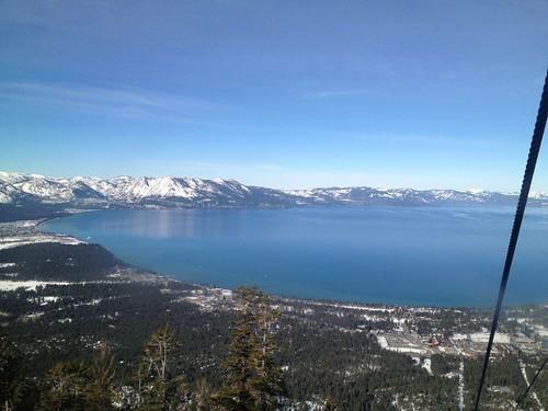 Lake Tahoe from the Gondola