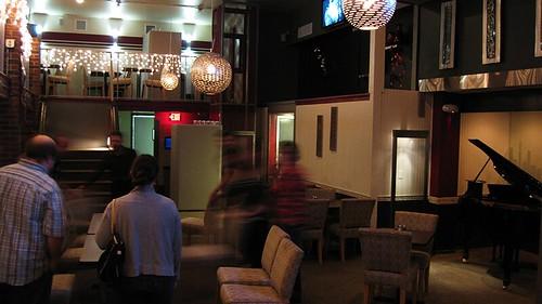 inside the lounge restaurant
