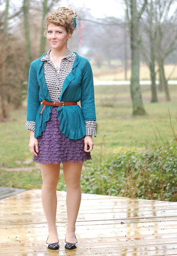 DIY Heart Cutout Cardigan