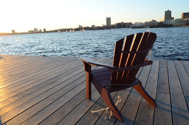 Chair + boats