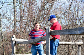 Ken and Keith at Overlook
