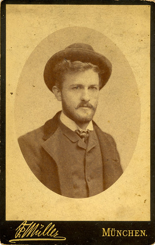Howard Forrer Peirce in Munich, ca. 1887