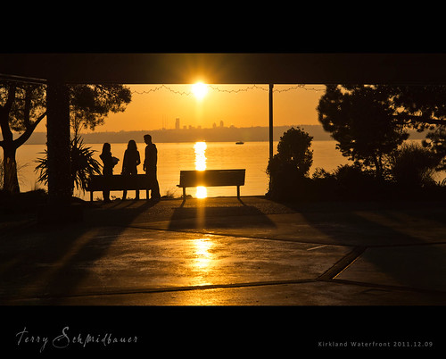 Kirkland Waterfront by Terry Schmidbauer
