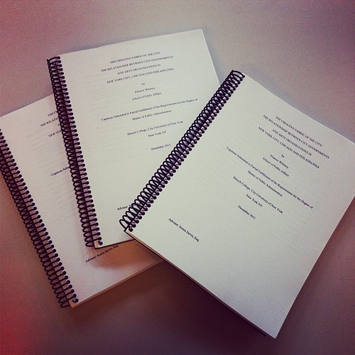 Thesis is done. My life can resume. That is all.