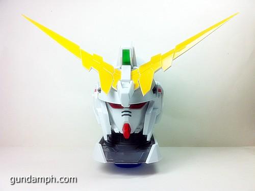 Banpresto Gundam Unicorn Head Display  Unboxing  Review (21)