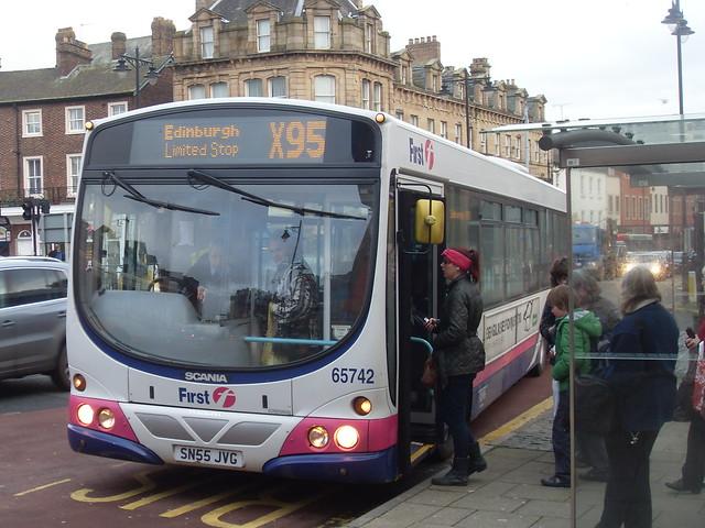 Loading Passengers for Edinburgh
