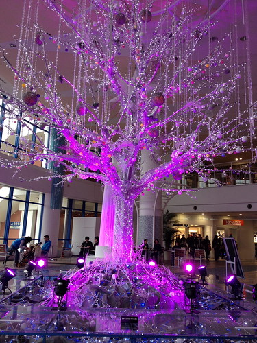 Aqua City christmas tree