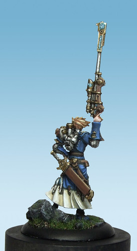 Captain Kara Sloan, Warmachine Miniature