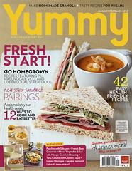 YUMMY Jan. 2012 Cover
