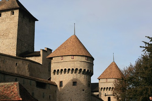 Chateau in Montreaux