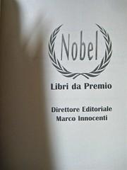 """James Matthew Barrie, L'uccellino bianco; Nobel 2011. [resp. grafica non indicata], """"In copertina: James Matthew Barrie"""". p. dell'occhiello. (part.), 1"""