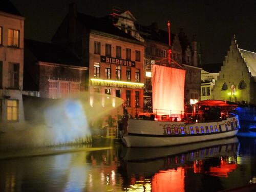 De Gentse Barge by TroyLambrecht