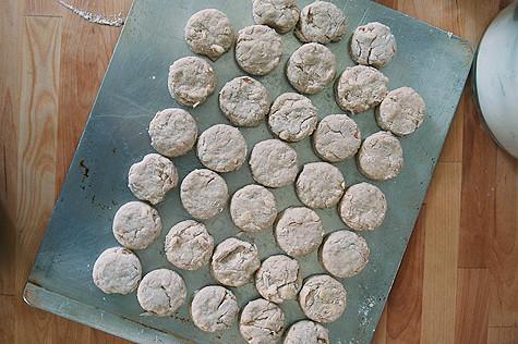 biscuits-onpan