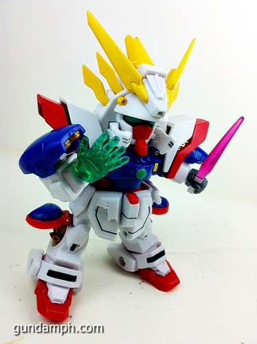 SD Archive Shining Gundam Unboxing Review (41)