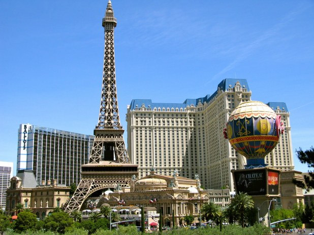 Pasear por Las Vegas