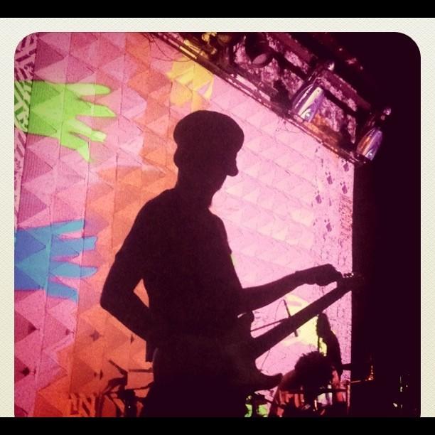 Aquecendo as guitarras @MacacoBong #FestivalFde