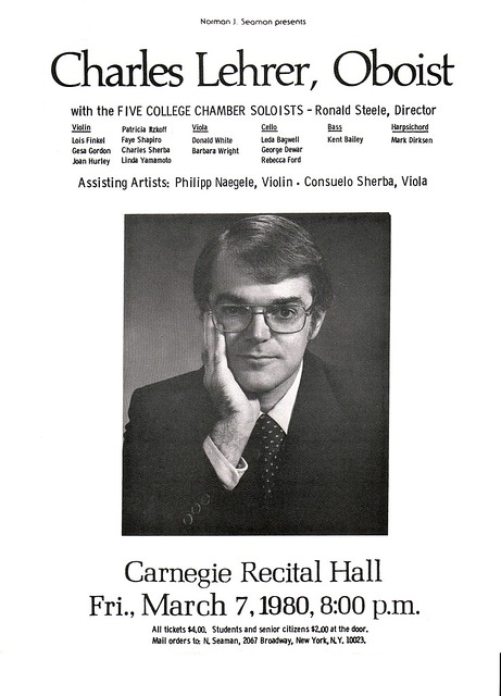 Chick's Carnegie Hall Poster