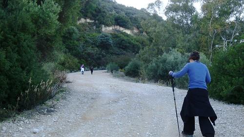 Subiendo al Cerro de la Cruz