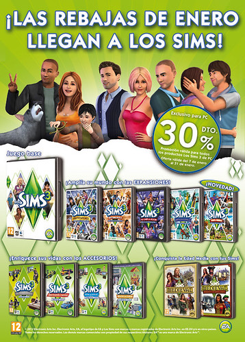 Spain - Save 30% on The Sims 3 Games and Medieval!
