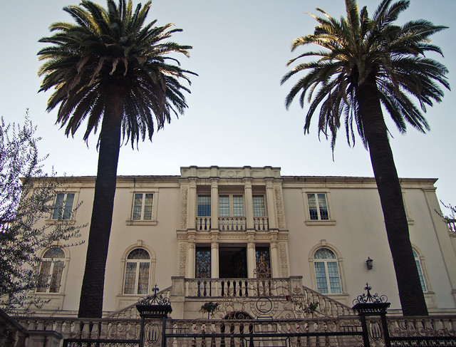 Star house at Beverly Hills
