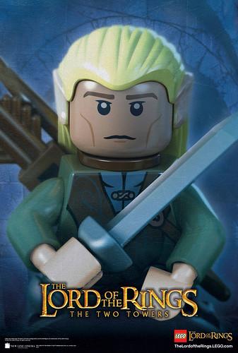 LEGO LOTR Legolas The Two Towers